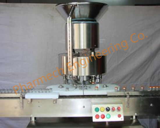 automatic six head vial sealing machine